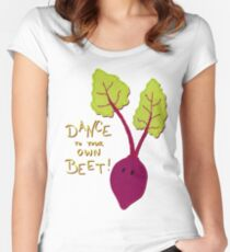 Dance to Your Own Beat Women's Fitted Scoop T-Shirt