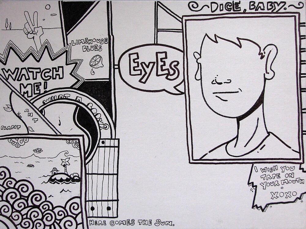 Stream of Consciousness Comic 1 by Sky James