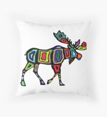 Marked Territory Throw Pillow