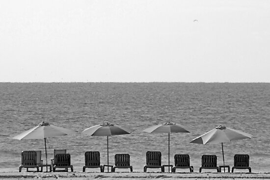 Jersey shore black and white by dddesignsnj
