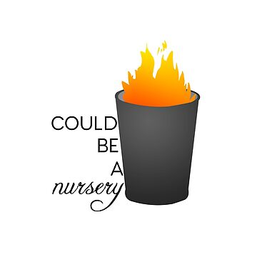 this is an on-fire garbage can......,.. by culturetime