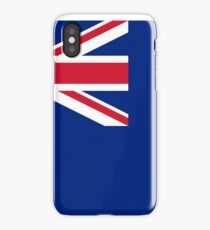 Blue Ensign, used under Admiralty warrant by certain officers and clubs. iPhone Case/Skin