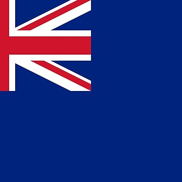 Blue Ensign, used under Admiralty warrant by certain officers and clubs. by TOMSREDBUBBLE