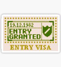 Entry Granted V2 Sticker