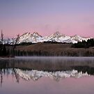 Little Redfish Lake by Jennifer Hulbert-Hortman