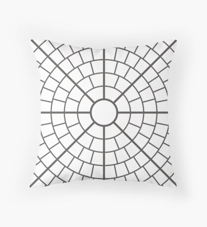 NDVH Circle One - white Floor Pillow