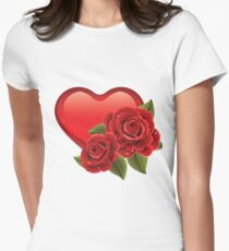 Heart with roses! T-Shirt