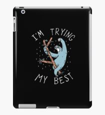Sloth Shirt iPad Case/Skin