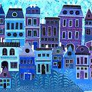 Blue Neighborhood by darsworld