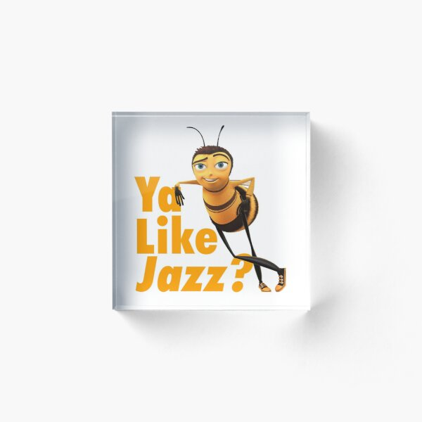Ya Like Jazz? Acrylic Block