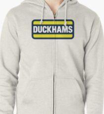 Duckhams Motor Oil Zipped Hoodie