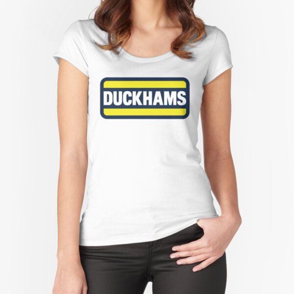 Duckhams Motor Oil Fitted Scoop T-Shirt