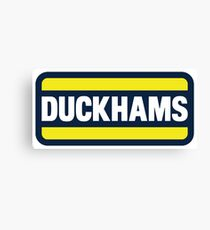 Duckhams Motor Oil Canvas Print