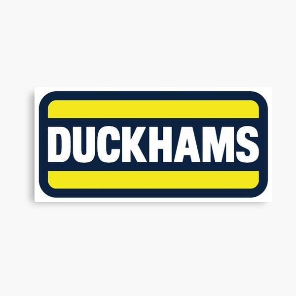 Duckhams Motor Oil Canvas Print