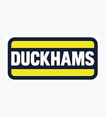 Duckhams Motor Oil Photographic Print
