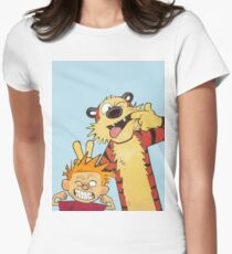 Calvin and Hobbes shirt  Women's Fitted T-Shirt