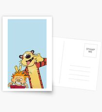 Calvin and Hobbes shirt  Postcards