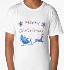 Merry Christmas Long T-Shirt