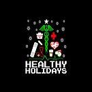 Healthy Holidays Nurse Tree by EthosWear