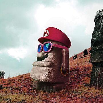 Moai Mario (Mario Odyssey) by TomsTops