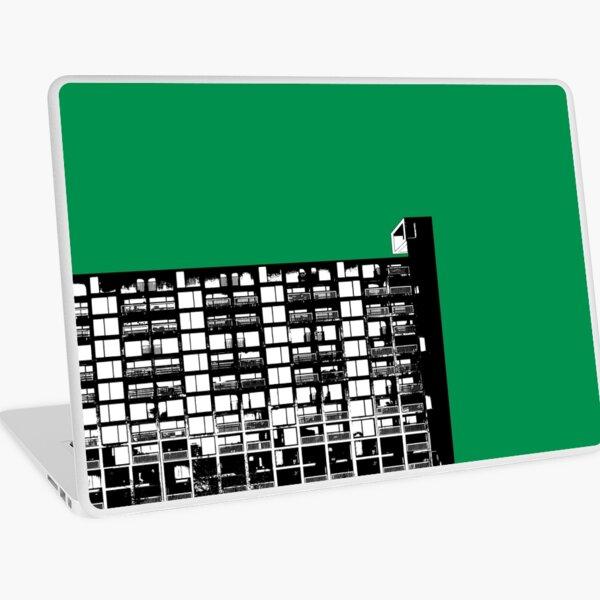 Facing the North -Green Laptop Skin