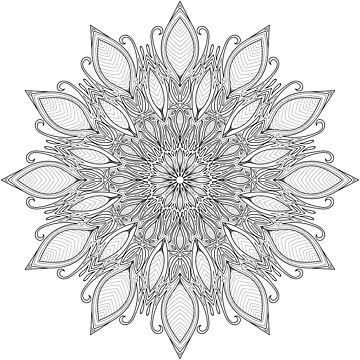 Mandala - Natural Peace by D-GraphicDesign