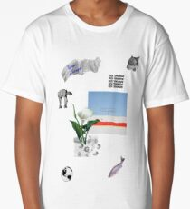 Cut And Paste Collage Art Long T-Shirt