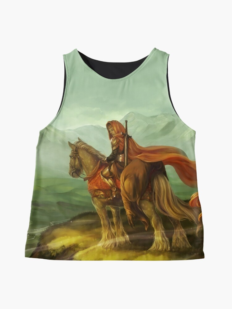 Alternate view of Red Riding Hood Sleeveless Top