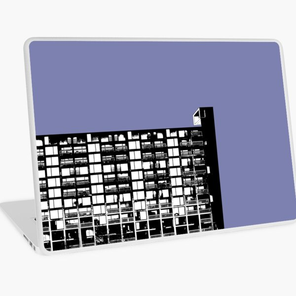 Facing The North -Lilac Laptop Skin