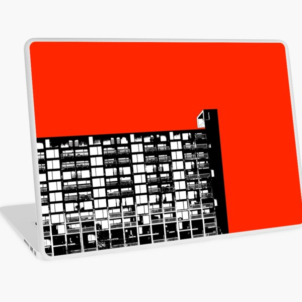 Facing the North - Red Laptop Skin