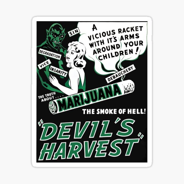 Devils Harvest Sticker
