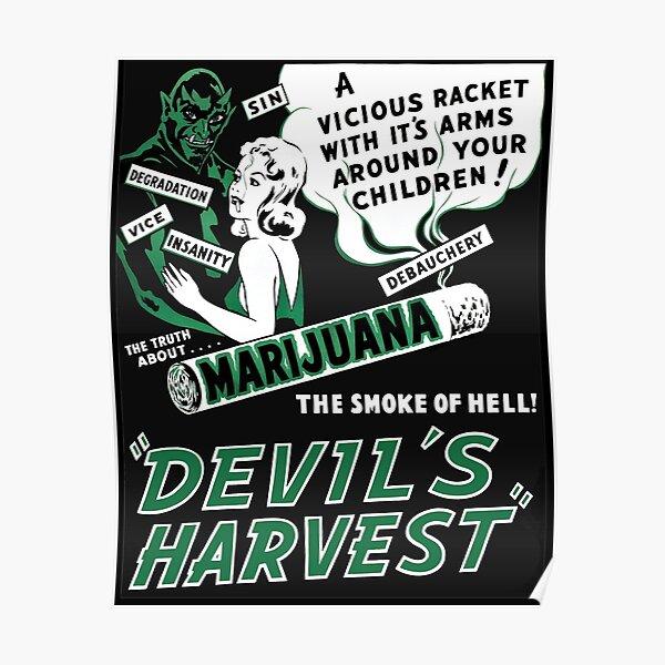 Devils Harvest Poster
