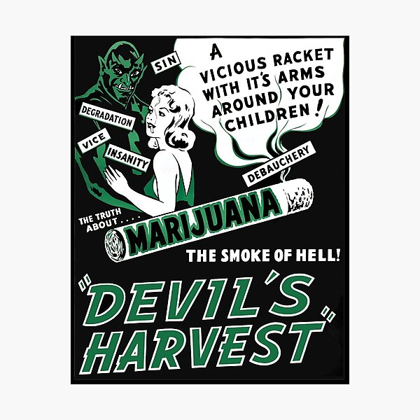 Devils Harvest Photographic Print