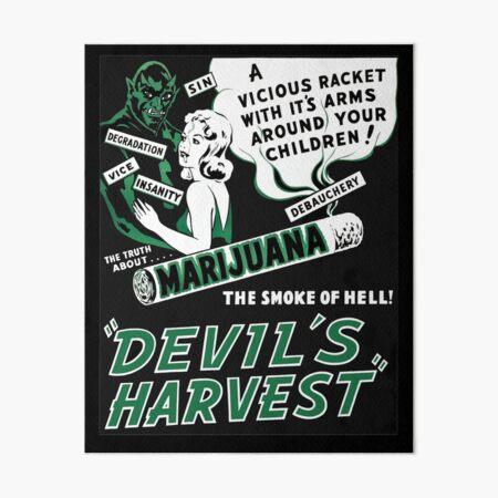 Devils Harvest Art Board Print