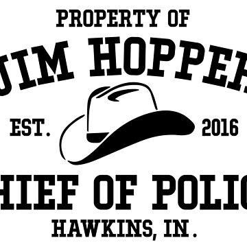 Jim Hopper by KisArt
