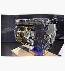 Engine Volvo Truck  Poster
