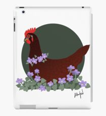 Rhode Island Red and Violets iPad Case/Skin