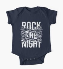 Rock the Night One Piece - Short Sleeve