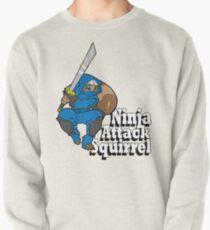Ninja Attack Squirrel Pullover