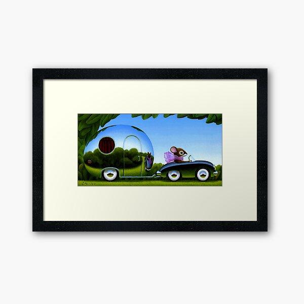 Touring Framed Art Print