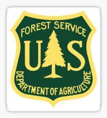 US Forest Service  Sticker