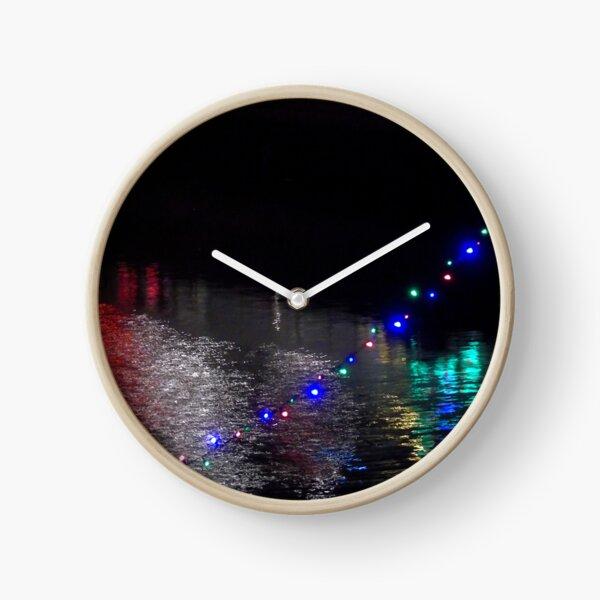 Christmas on sea Clock