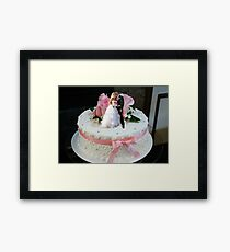 The Ultimate Wedding Cake Topper Framed Print