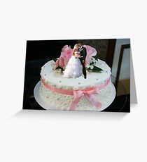 The Ultimate Wedding Cake Topper Greeting Card