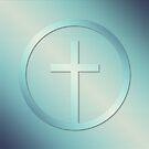 Retro Cross Emblem Graphic by morningdance