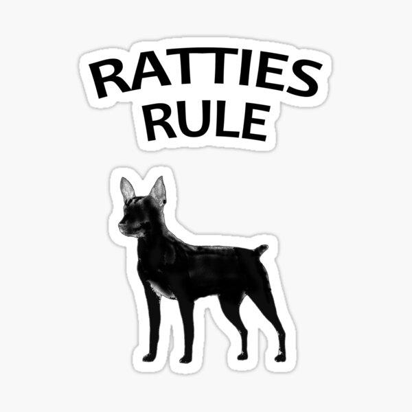 Ratties Rule Sticker