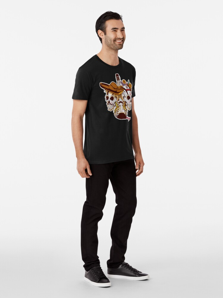 Alternate view of Day of the dead Premium T-Shirt
