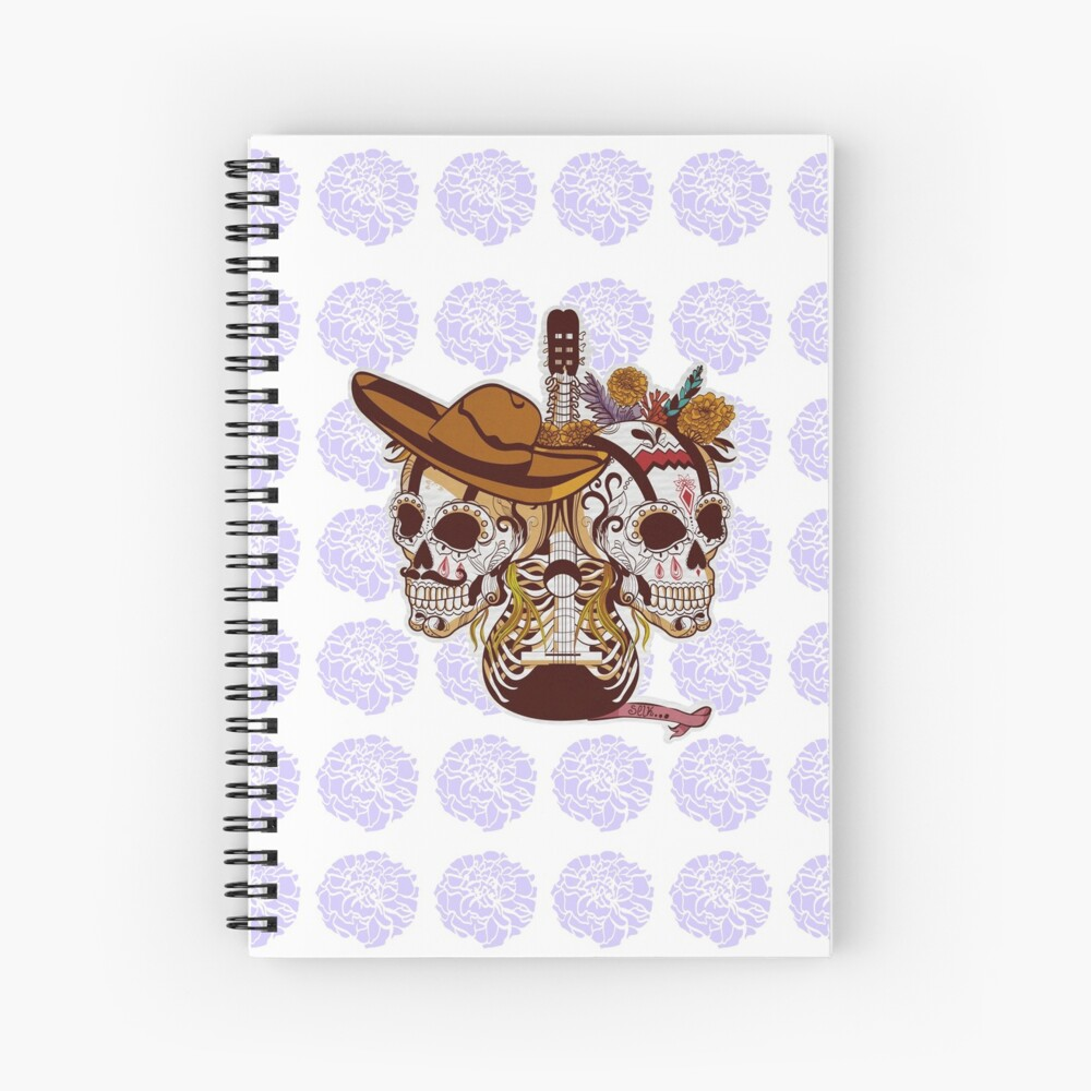 Day of the dead Spiral Notebook