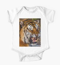 Siberian Tiger roar One Piece - Short Sleeve