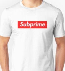 Supreme Subprime Tee Shirt Unisex T-Shirt